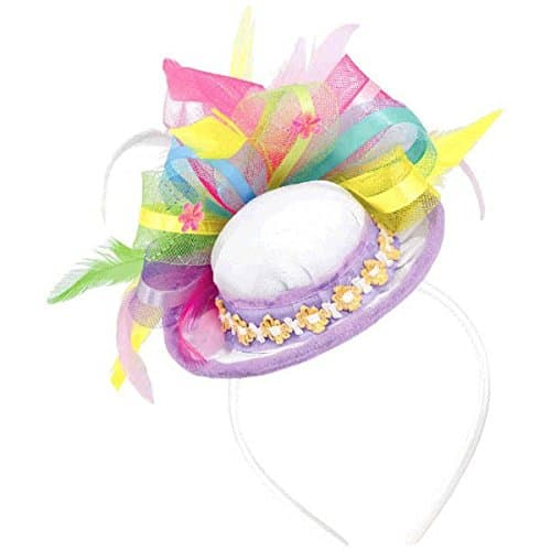 Easter Feathers and Ribbons Hat