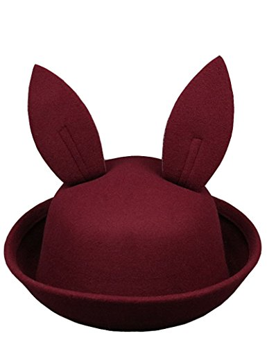 Easter Bunny Ear Bowler Hat