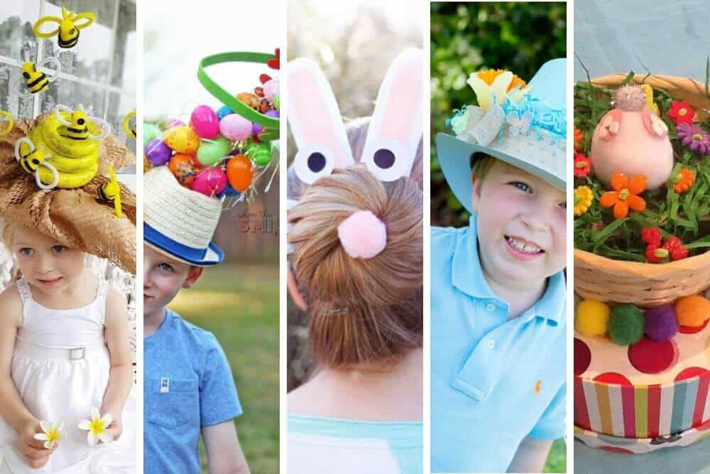 Easy Easter Bonnet ideas for boys and girls