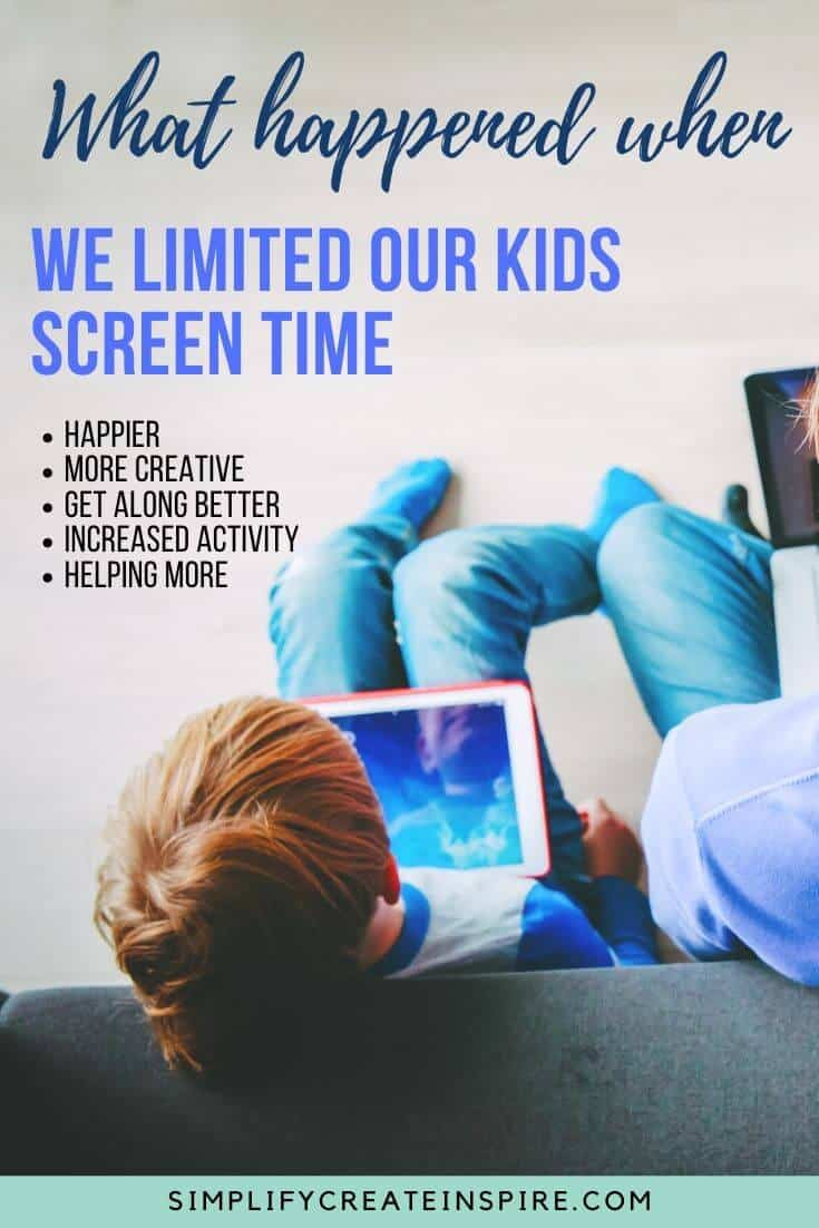 benefits of limiting screen time in kids: How Limiting Screen Time Made Our Kids Happier