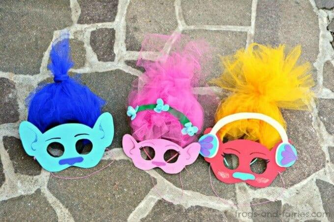 Trolls masks