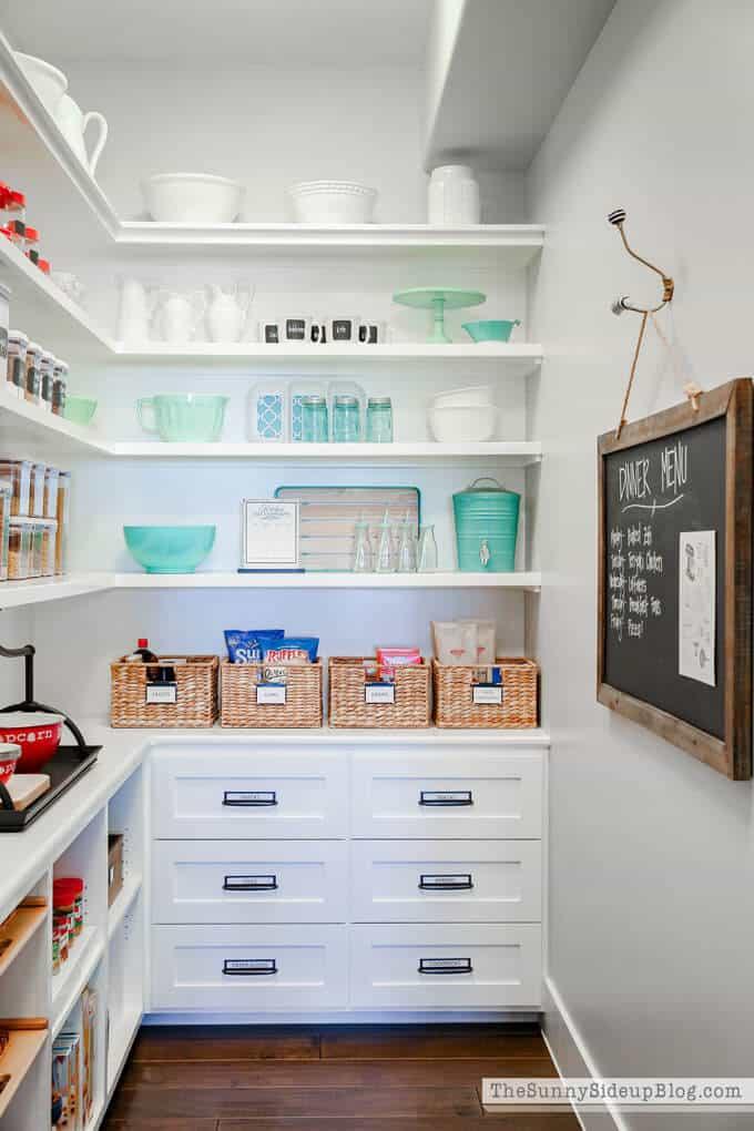 Organized pantry 37c edited 1 1 14 genius pantry organisation ideas - pantry storage solutions & small pantry tips