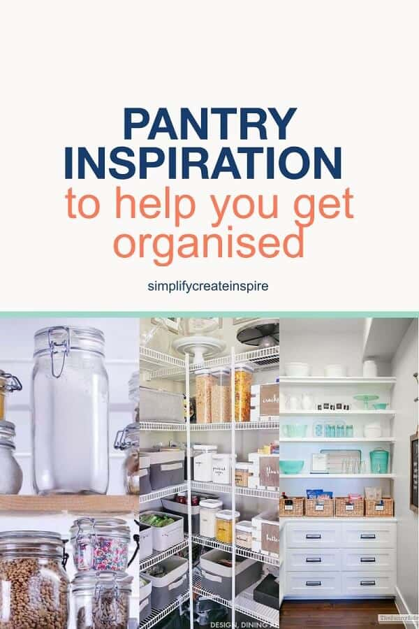 Kitchen pantry organisation ideas