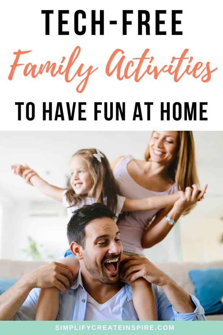 tech-free family fun