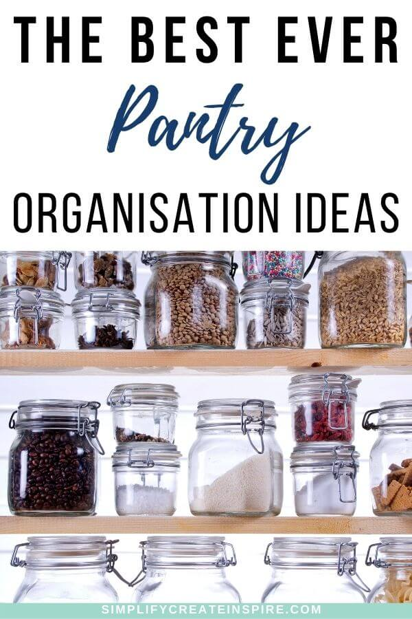The best pantry organisation ideas and pantry storage