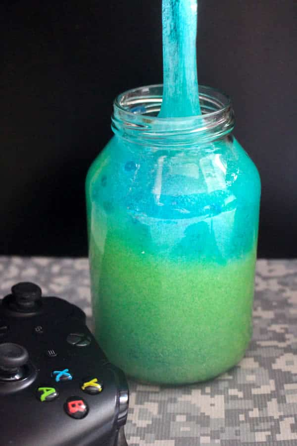 Diy fortnite slime how to make homemade slurp juice slime easy and fun recipe for kids kids crafts activities party favors fortnite slime idea 3257