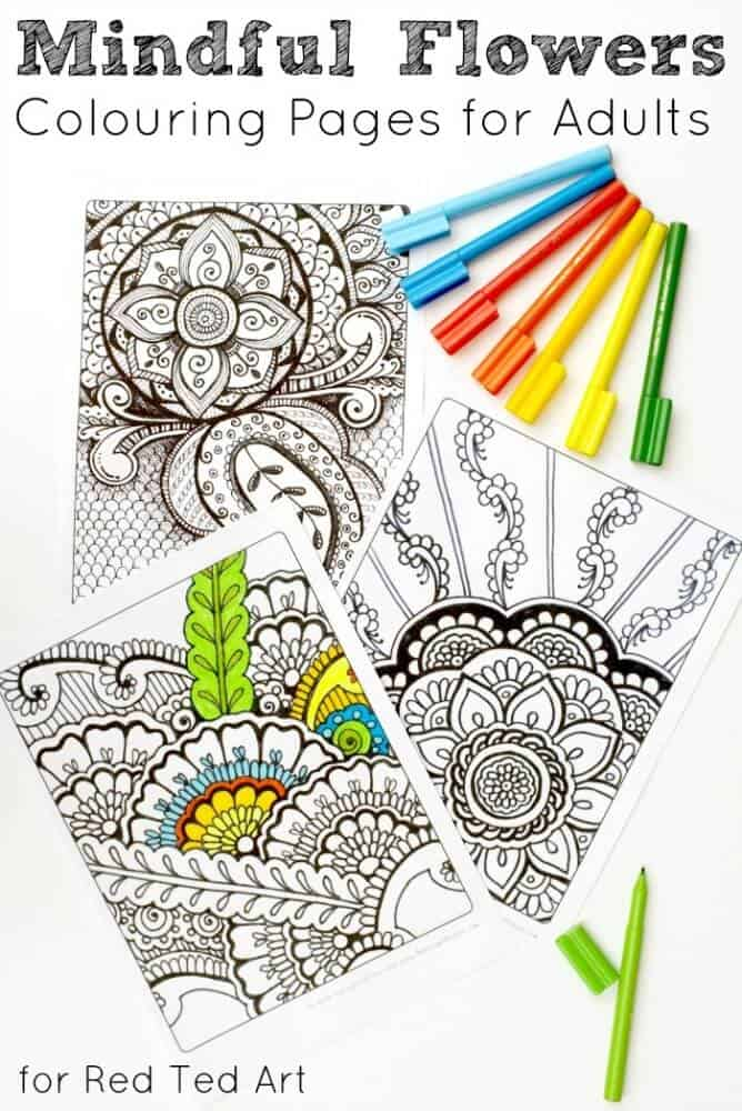 70+ Printable Mindfulness Colouring Pages For Adults & Kids Simplify  Create Inspire