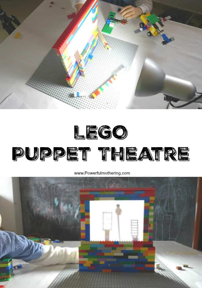 Lego puppet theatre for kids 1
