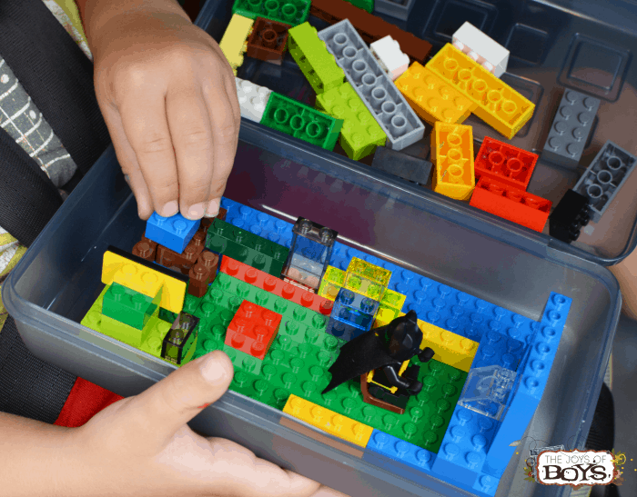 Lego box travel