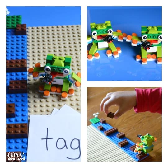 Lego phonics activity