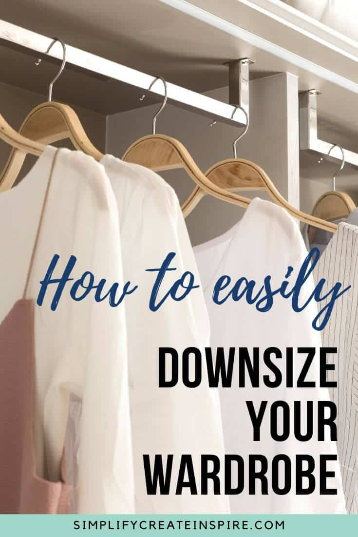 How to downsize your wardrobe