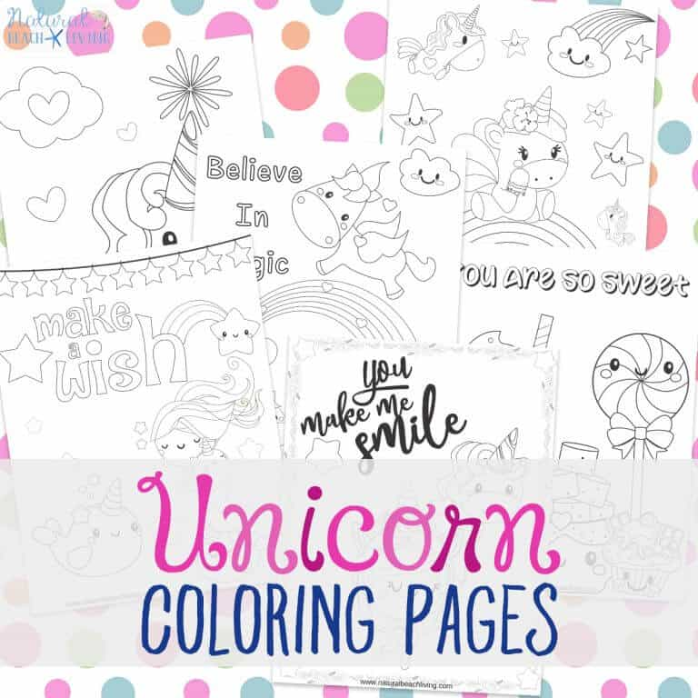 Unicorn coloring pages square 768x768 1
