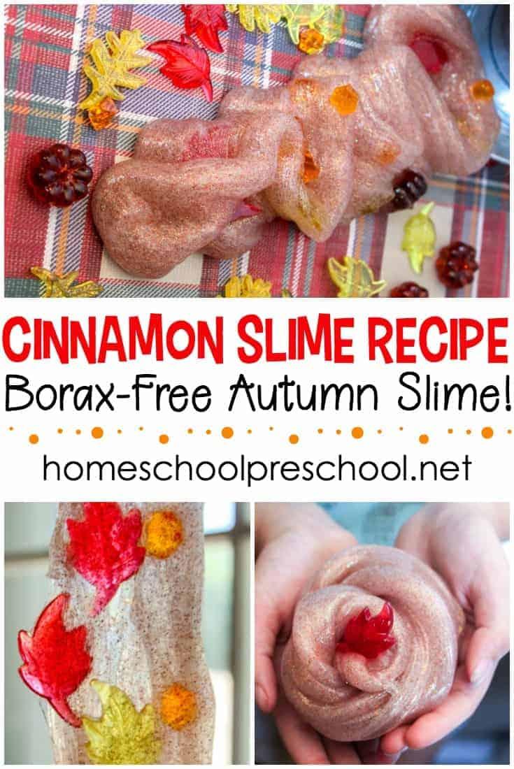 Cinnamon fall slime