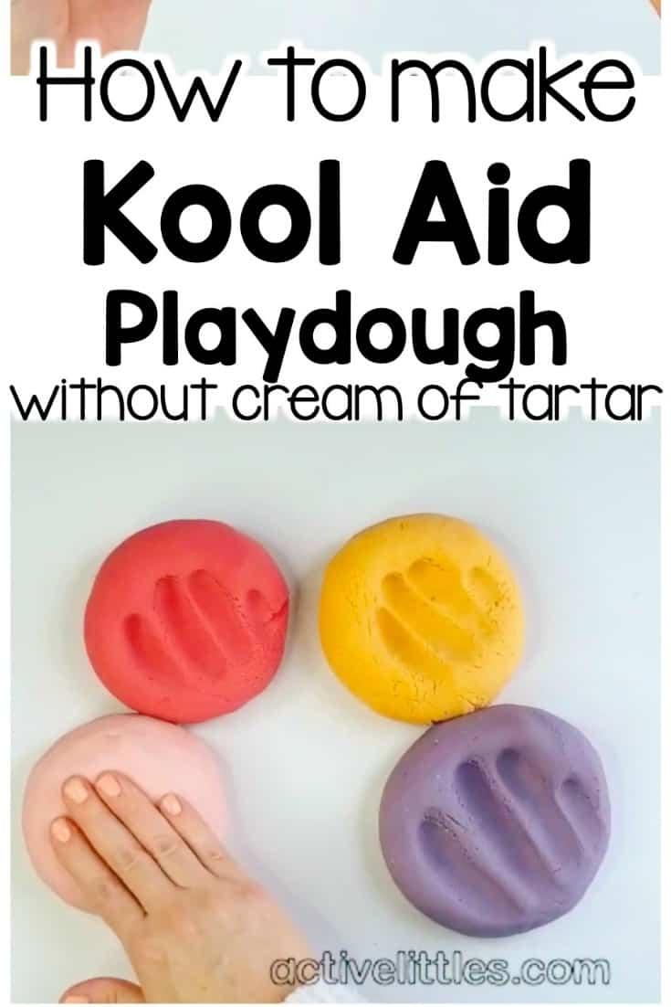 How to make kool aid play doh