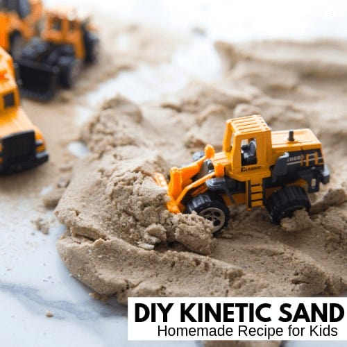 Kinetic sand recipe for kids