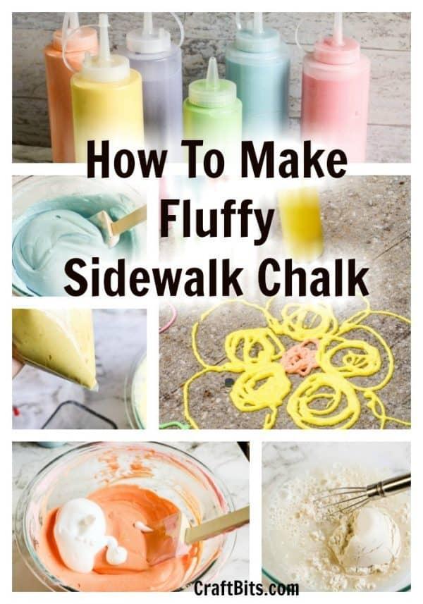 Sidewalk foam paint fluffy idea kids draw locdown isolation 1 1. Jpgfit6002c857ssl1