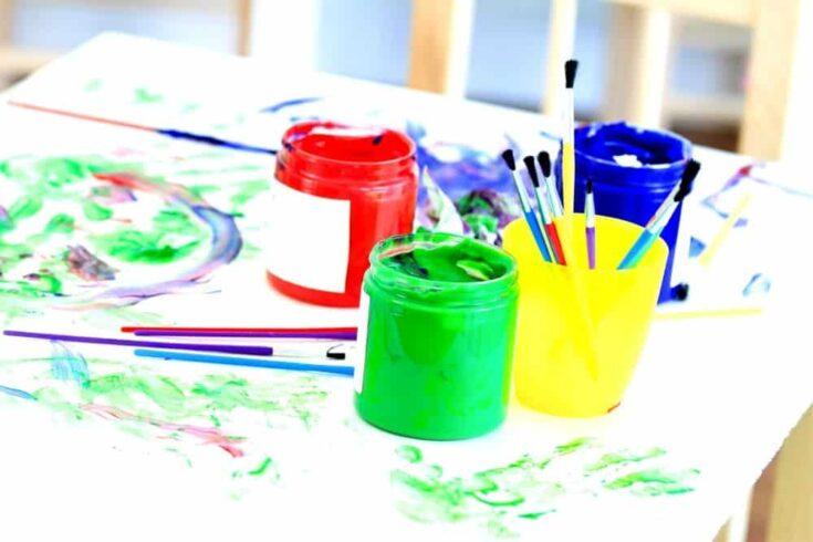 Creative play recipes homemade paint