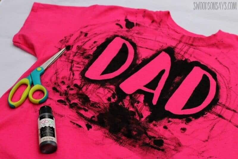 How to make a fathers day tshirt with kids 1 1