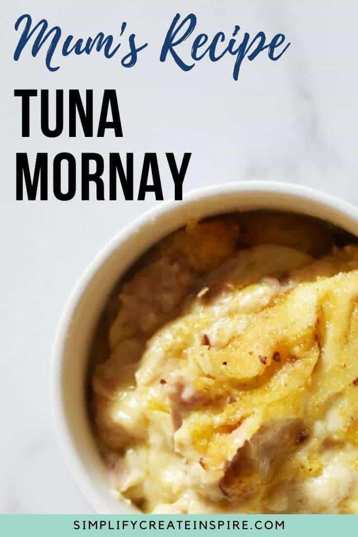 Easy tuna mornay recipe
