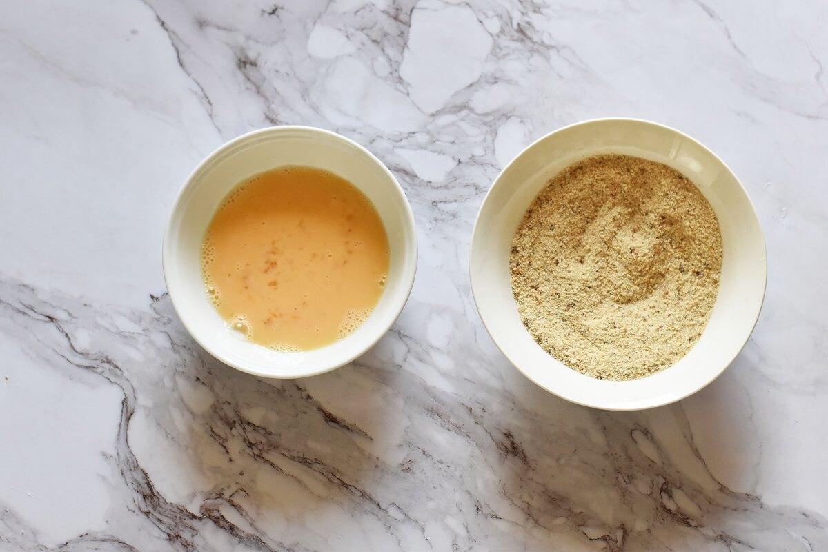 Egg & breadcrumbs mixture