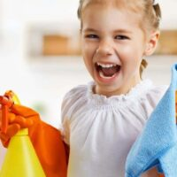 Cleaning games for kids to make chores more fun