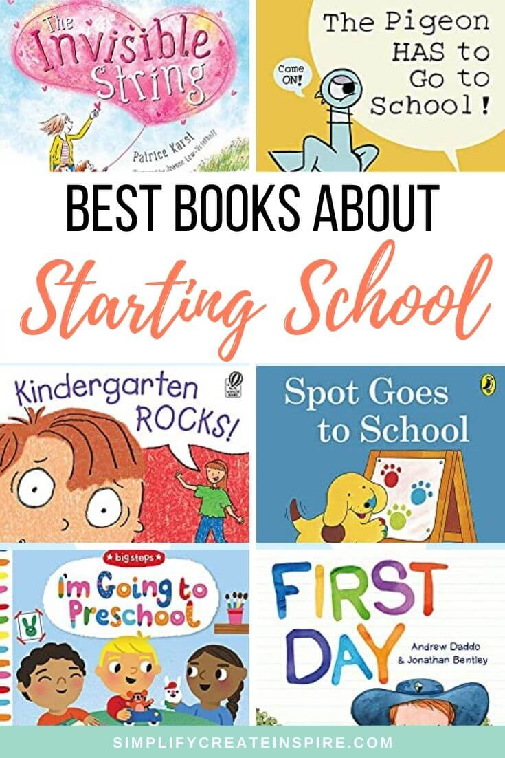 Best picture books about starting school