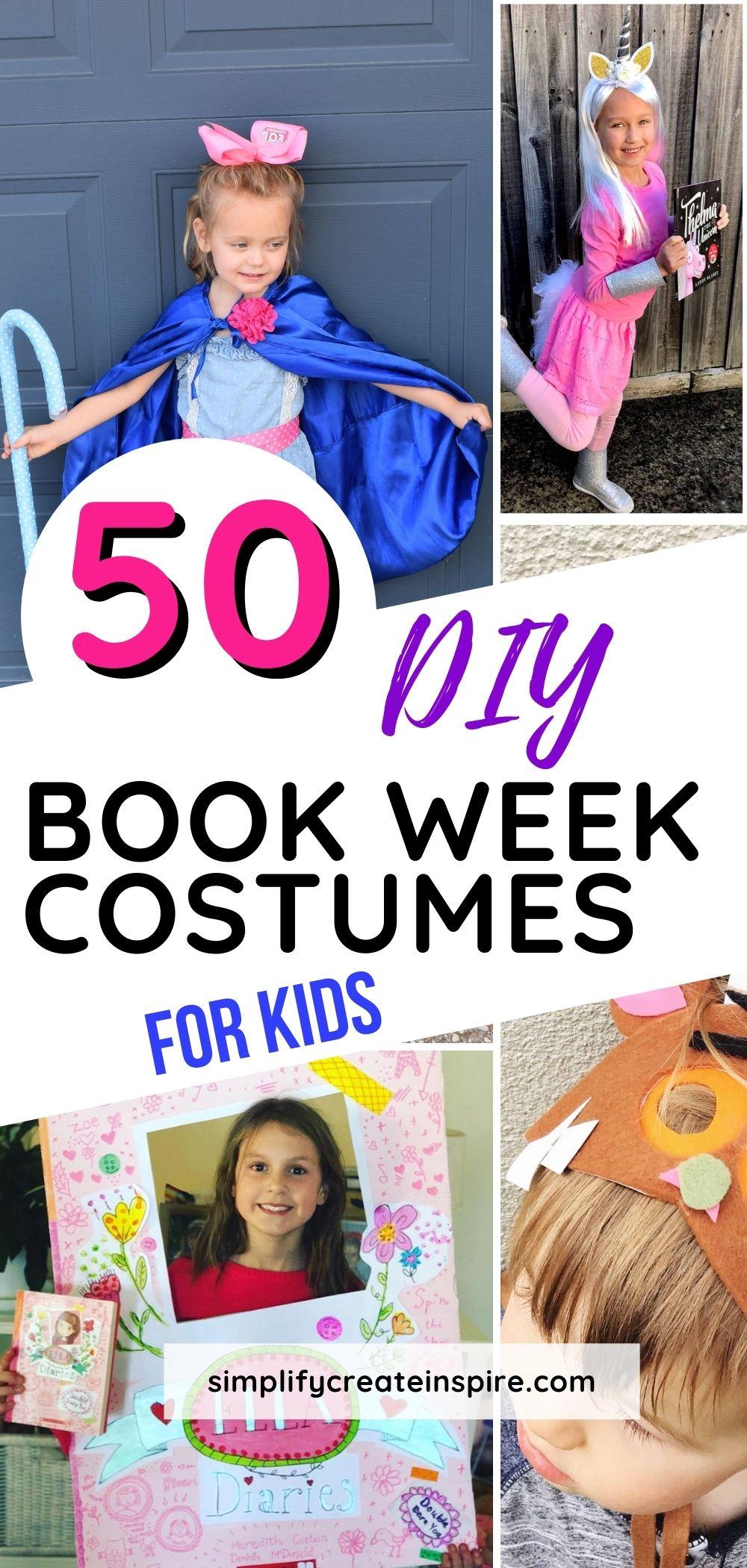 Diy book week costumes