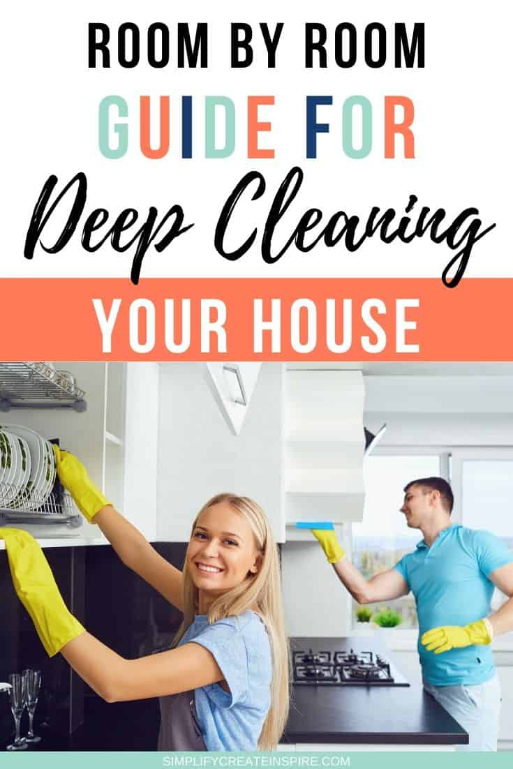 how to deep clean your house room by room checklist (2)