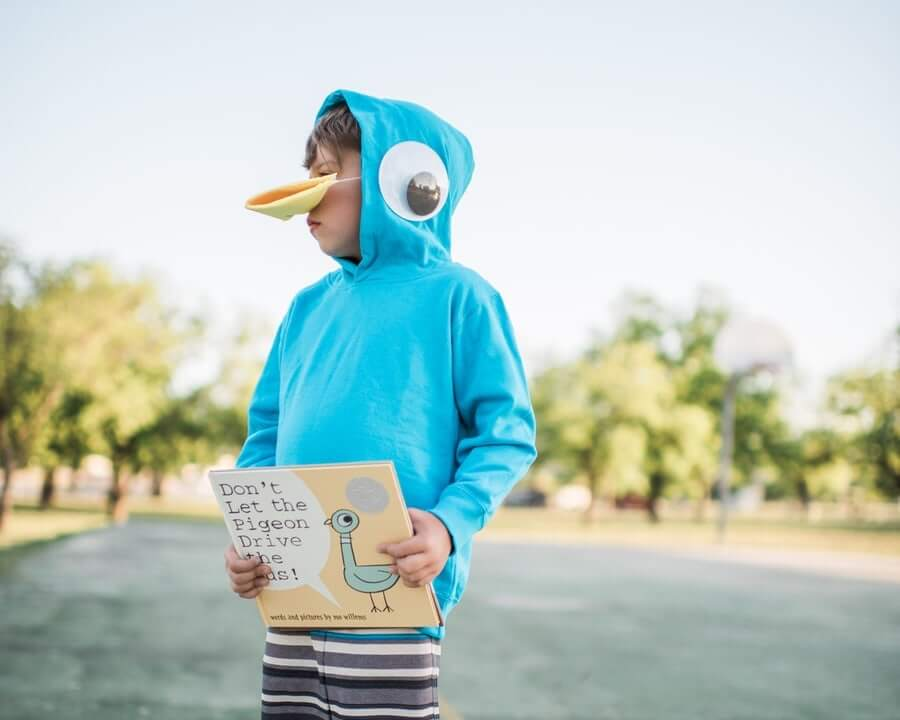 Mo willems pigeon costume