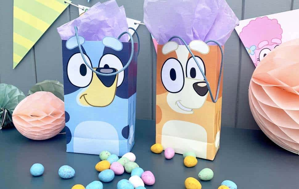 Bluey party bags