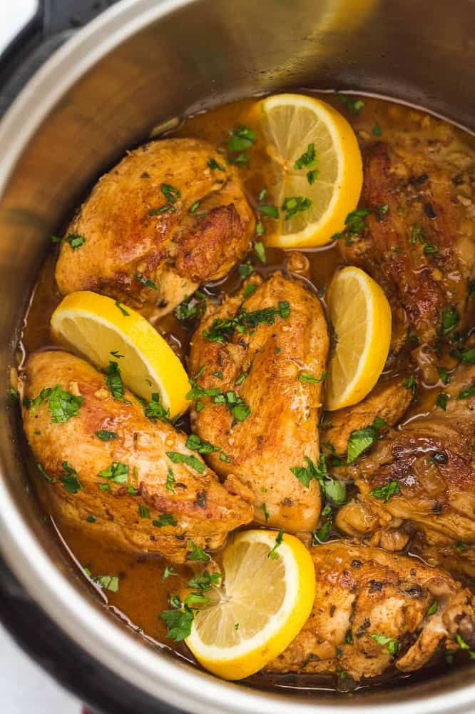 Instant pot chicken