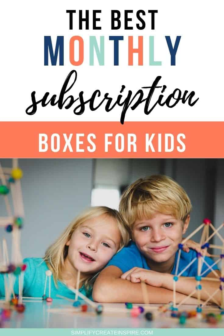 Best kids subscription boxes - monthly activity kits