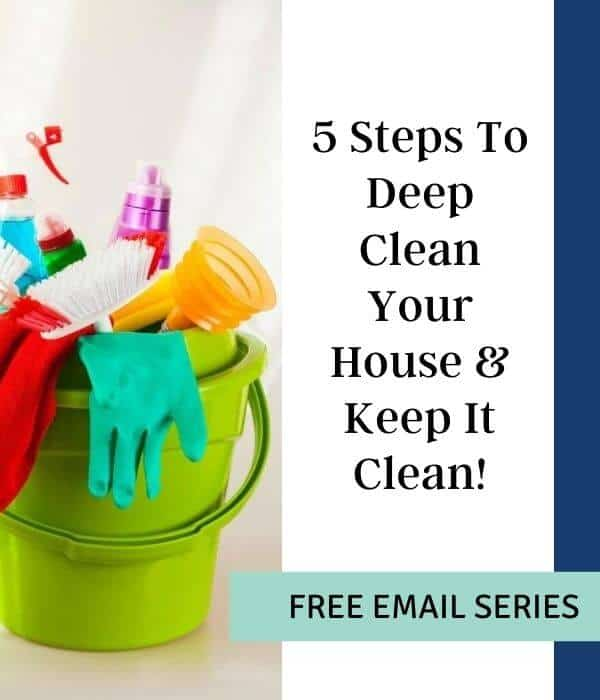 5 day deep clean challenge