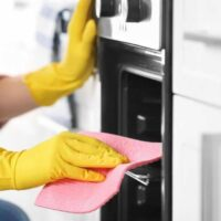 how to deep clean oven