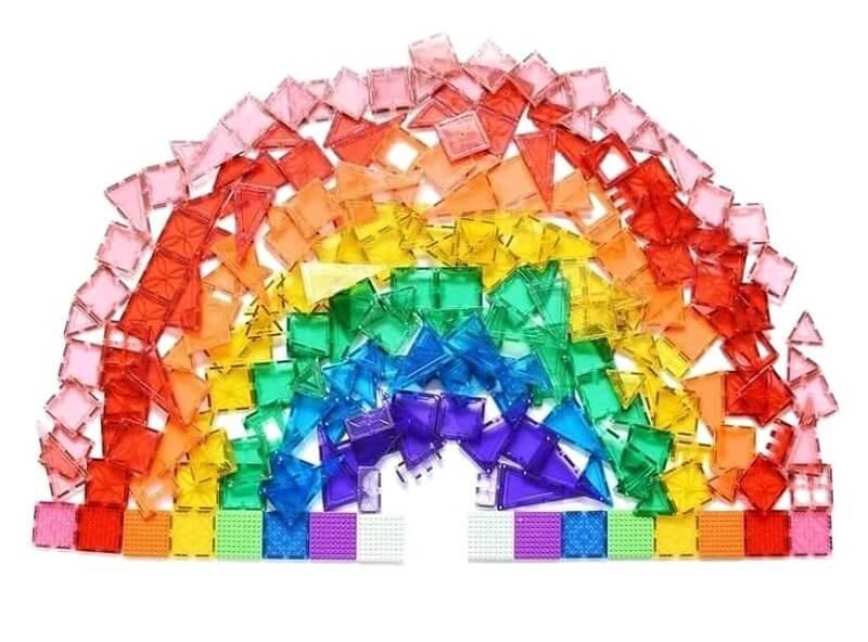 Magblox rainbow