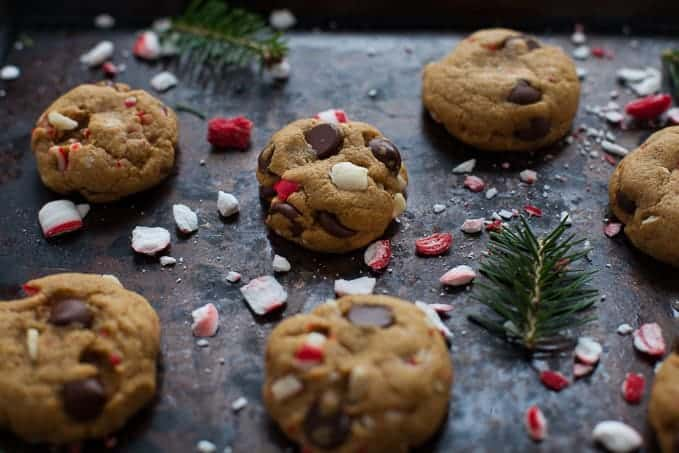Easy peppermint dark chocolate cookies 4 2
