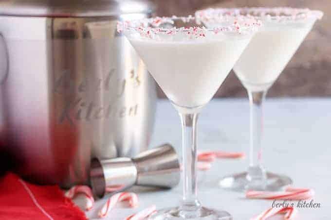 Peppermint martini 6