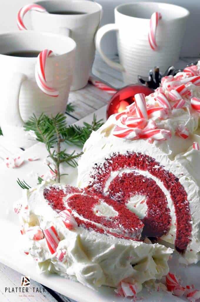 Red velvet cake roll by platter talk with logo 1 1