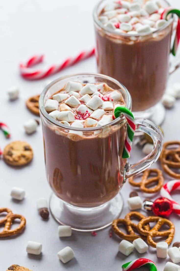 Slow cooker hot chocolate 11
