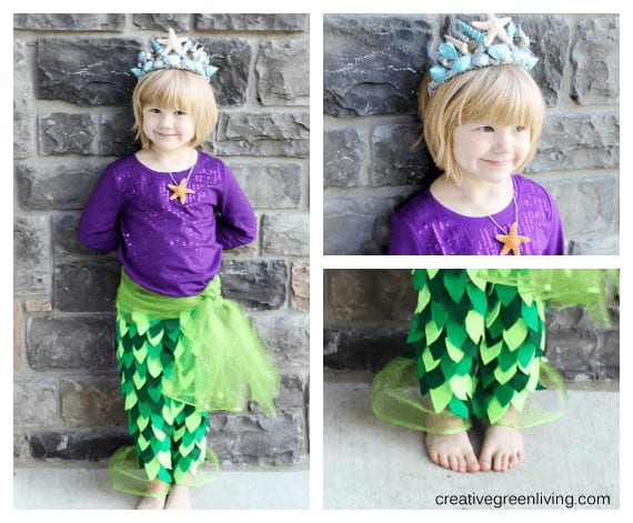 How to make a mermaid princess costume 1
