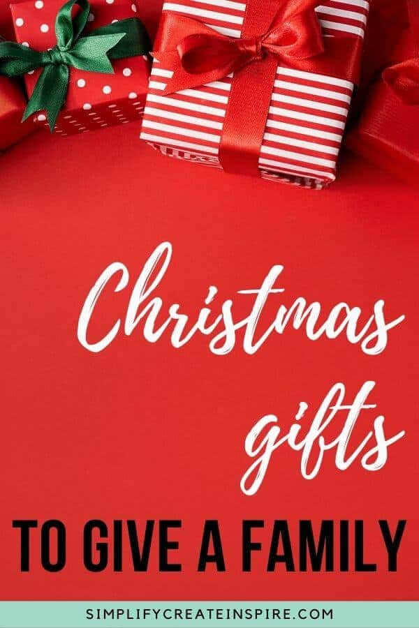 Fun family gift ideas