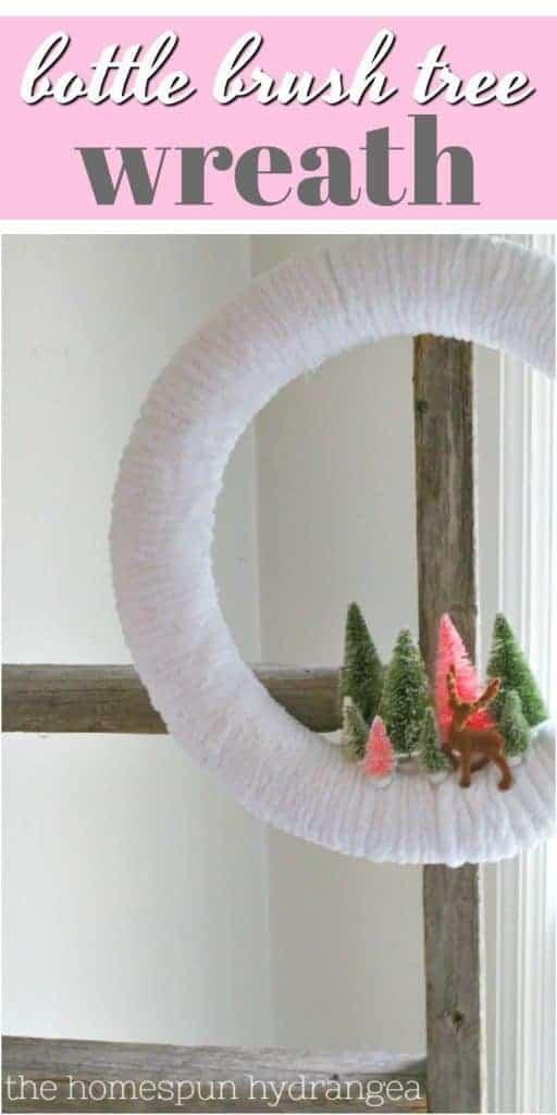 Bottle brush tree wreath 512x1024 1 no-glue diy bauble christmas wreath tutorial + more diy wreath ideas