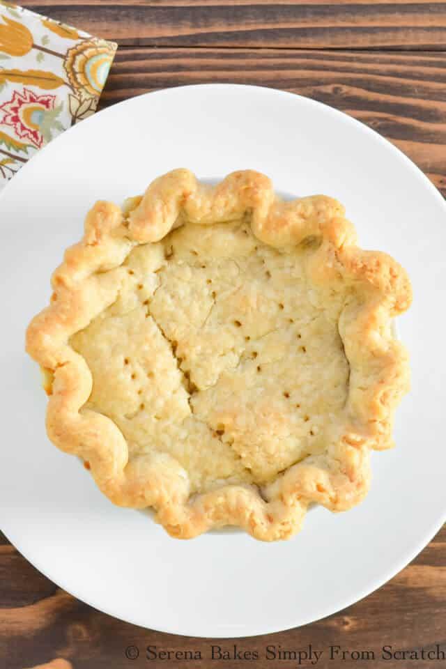 Cheesy ham and broccoli pot pie