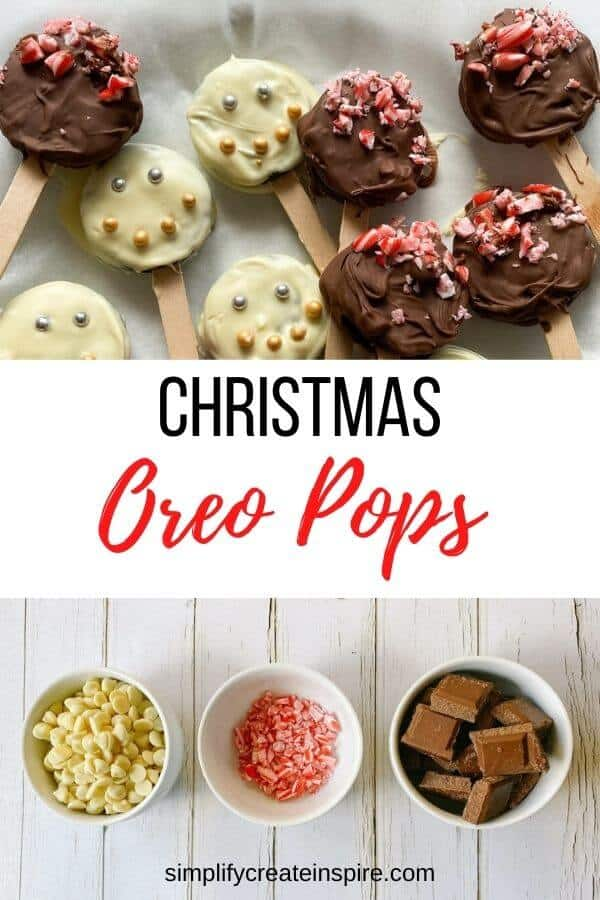 Chocolate coated christmas oreo pops video2