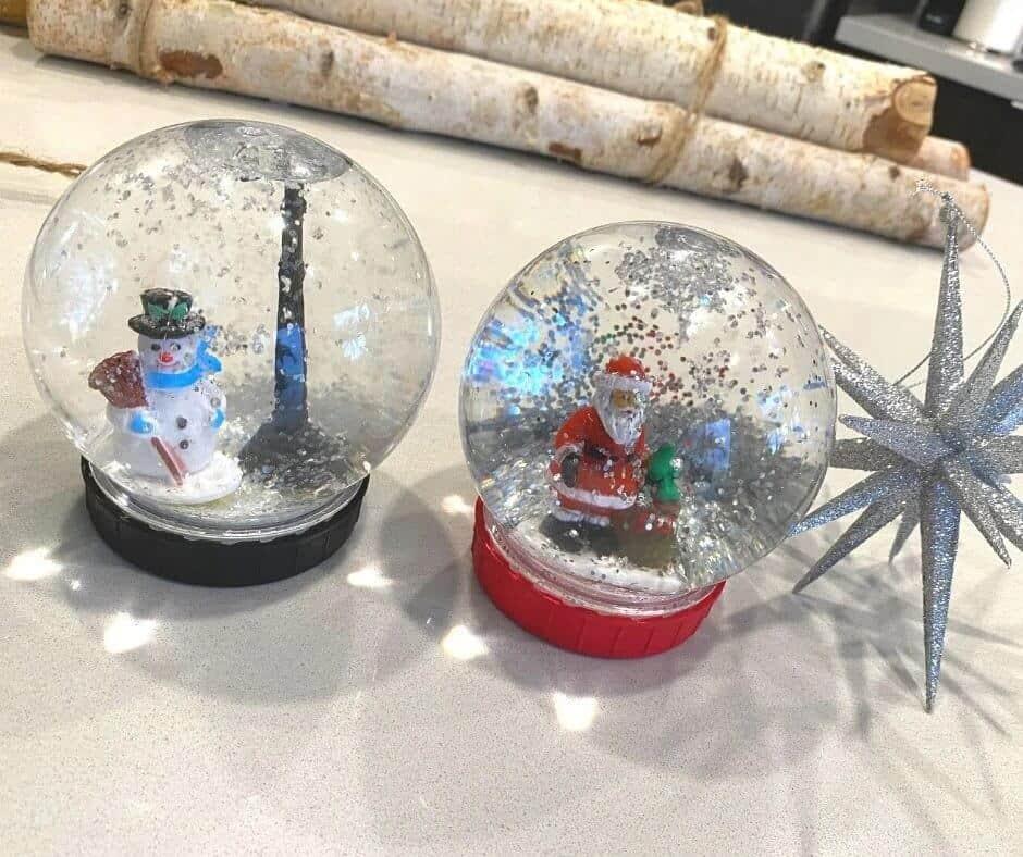 Diy snowglobe class gift idea