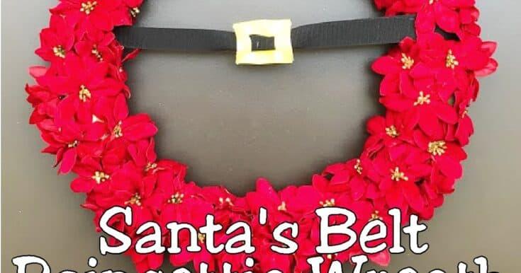 Santas2bbelt2bpoincetta2bwreath2bby2bdiy2bparty2bmom no-glue diy bauble christmas wreath tutorial + more diy wreath ideas