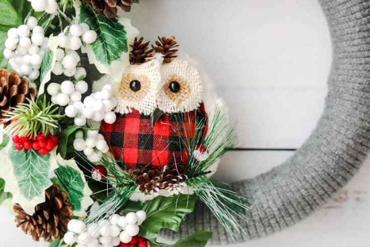 Dollar tree wreath for christmas no-glue diy bauble christmas wreath tutorial + more diy wreath ideas