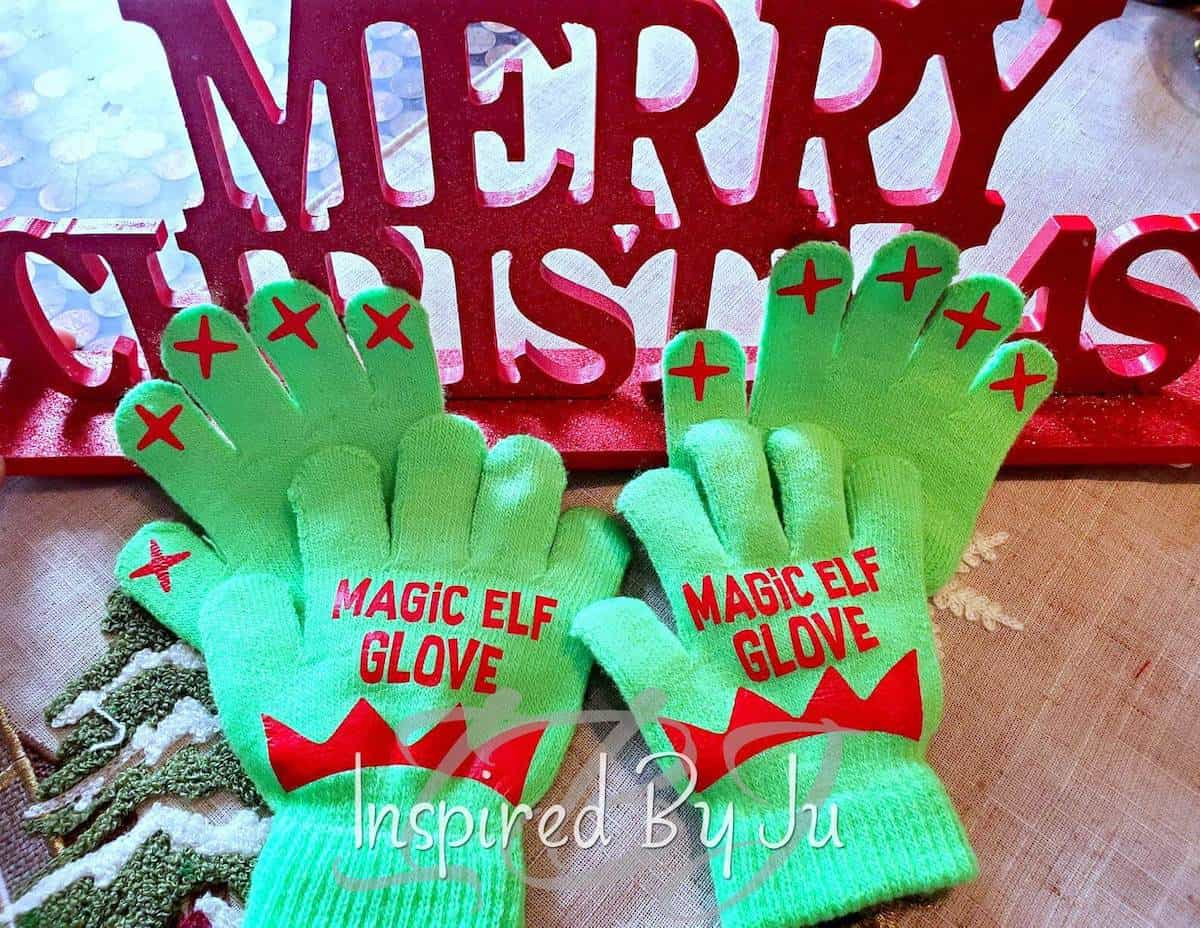 Elf gloves for touching elf