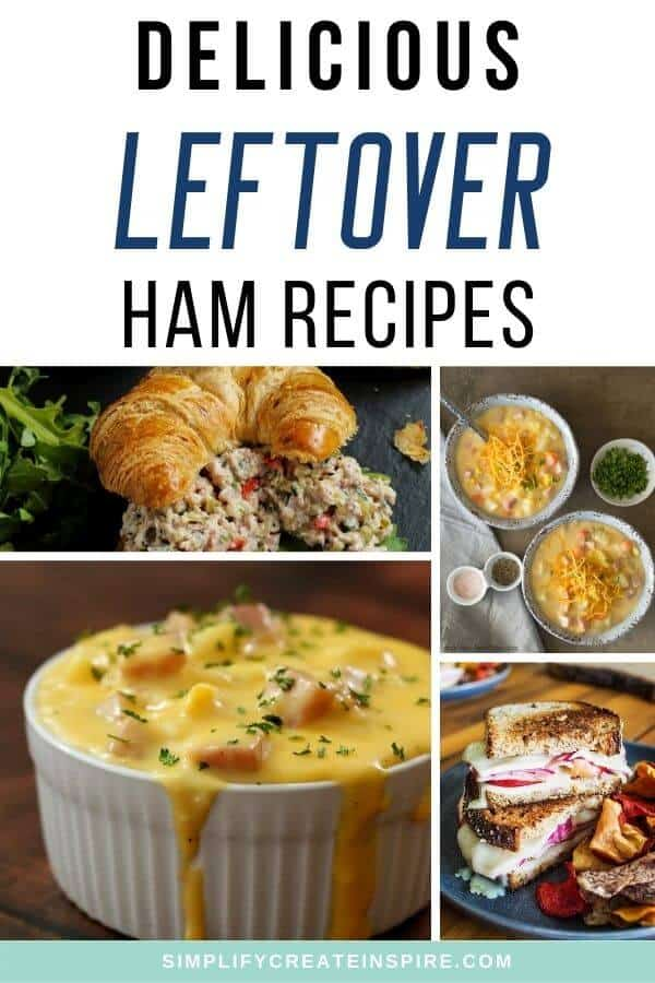 Leftover christmas ham recipes