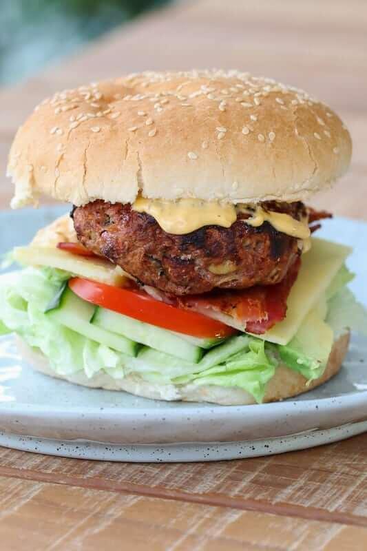 Beef burger 2 1